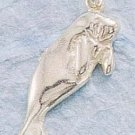 STERLING SILVER HP MANATEE CHARM