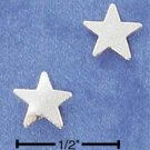 STERLING SILVER SMALL STAR POST EARRINGS