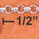 """STERLING SILVER 9-10"""" ANKLET   W/ SEVEN DANGLING MULTICOLORBRIOLET CRYSTALS"""