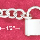 """7"""" SS HP ROUND CABLE (7MM) CHAIN WITH PADLOCK CLASP"""