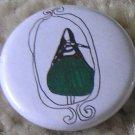 pear girl stripe badge