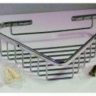 LARGE shower Basket  for corner wall mount