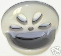 Bath Drain Porcelain Overflow Plate