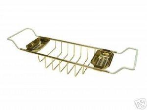 Claw foot Tub Shelf Polished Brass