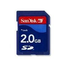 SanDisk 2GB Secure Digital (SD) Memory Card