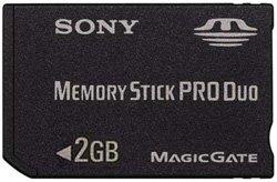 Sony MSX-M2GS - 2GB Memory Stick Duo Pro