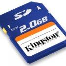 Kingston 2GB SD Memory Card