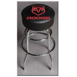 Officially Licensed Dodge Bar Stool