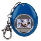 "1.1"" LCD Keychain Portable Digital Photo Viewer/Album (Blue)"
