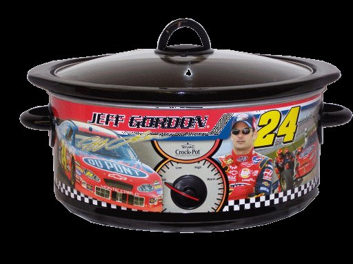 Nascar Jeff Gordon Special Edition Slow Cooker By Rival