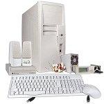 Beige Barebones Kit w/Case 400W PS 40x CD-ROM & More!