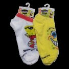 SpongeBob Squarepants Assorted Ankle Socks 12 Pairs