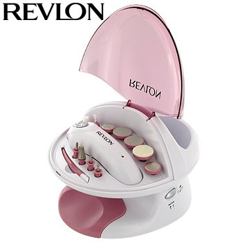 REVLON NAIL BEAUTY CENTER WITH BUBBLE SPA AND DRYER
