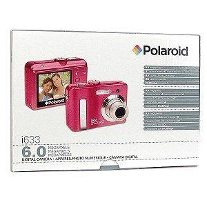 Polaroid i633 6MP 3x Optical/4x Digital Zoom Camera (Pink)