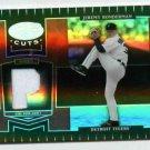 2004 Leaf Certified Cuts Jeremy Bonderman Jersey Card  Detroit Tigers #D 97/100