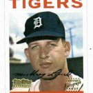 2001 Team Topps Legends Mickey Lolich AUTOGRAPH Detroit Tigers