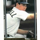 1992 Topps Gold Winner Alan Trammell Detroit Tigers