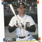 1988 Fleer Superstars Alan Trammell Oddball Detroit Tigers