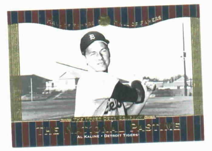 2001 Upper Deck Hall Of Famers Al Kaline Detroit Tigers