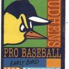 1998 Toledo Mud Hens Pocket Schedule Earlybird