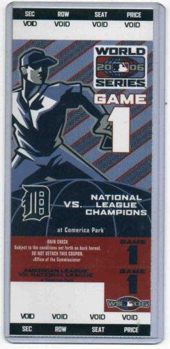 2006 World Series Ticket Detroit Tigers PROMO RARE!!!