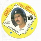 Cains MSA Disc 1984 World Champions Detroit Tigers Juan Berenguer UNOPENED