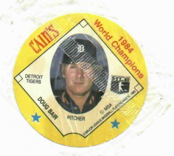 Cains MSA Disc 1984 World Champions Detroit Tigers Doug Bair UNOPENED