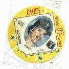 Cains MSA Disc 1984 World Champions Detroit Tigers Jack Morris UNOPENED