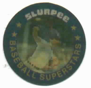 1986 7/11 Slurpee Ace Pitchers Jack Morris  Coin / Disc Detroit Tigers Oddball