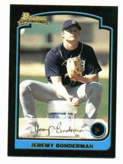 2003 Bowman Gold Sig Jeremy Bonderman ROOKIE Detroit Tigers