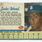 1962 Post Jake Wood Detroit Tigers Card # 1