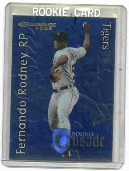 2002 Donruss Rookie Crusade Fernando Rodney Detroit Tigers