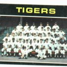 1971 Detroit Tigers Team Card NICE !!!!
