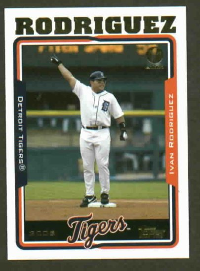 2005 Topps 1st Edition Ivan Rodriguez Detroit Tigers