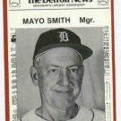 1981 Detroit News Mayo Smith Oddball Tigers 1968