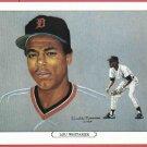 1984 Tiger Wave Lou Whitaker Oddball Detroit Tigers