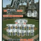 2007 Detroit Tigers Lottery Ticket ODDBALL