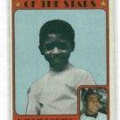1972 Topps Willie Horton Detroit Tigers Boyhood Photo