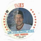 1986 Cains MSA Disc Lance Parrish Detroit Tigers Oddball Unopened