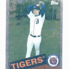 2008 Topps Trading Card History Chrome Justin Verlander Detroit Tigers