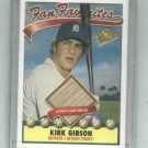 2003 Topps All Time Fan Favorites Kirk Gibson Bat Card Detroit Tigers