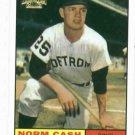 2002 Topps Archives Norm Cash 1962 Reprint Detroit Tigers