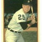 1985 Circle K Norm Cash Detroit Tigers Card Oddball
