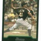 2004 Bowman Draft Picks Wil Ledezma Detroit Tigers