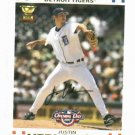 2007 Topps Opening Day Justin Verlander Detroit Tigers