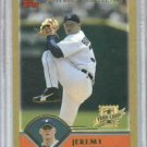 2003 Topps Traded Gold Jeremy Bonderman  Detroit Tigers ROOKIE #d /2003