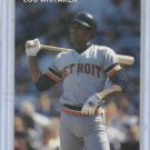 Oddball Lou Whitaker Detroit Tigers Baseball Card Scott Cunningham