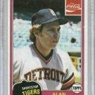 1981 Topps Coke Alan Trammell Detroit Tigers Oddball
