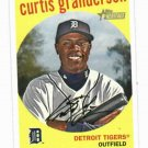 2008 Topps Heritage Curtis Granderson Detroit Tigers