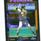2005 Topps UH Chrome Refractor Black Placido Polanco Detroit Tigers /250